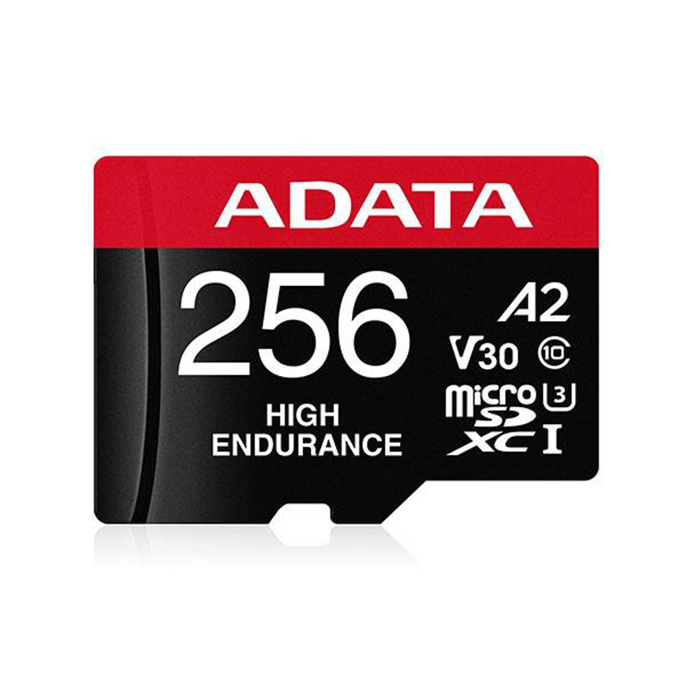 ADATA 威剛 High Endurance microSDXC UHS-I U3 A2 V30 256G 高耐用記憶卡
