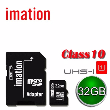 美國知名 Imation Class-10 UHS-1 超高速Micro SD 32GB