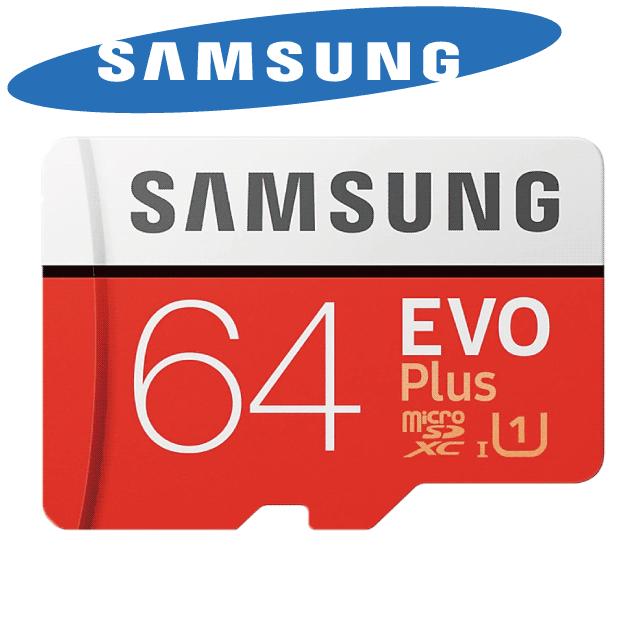 超快讀寫速度100MB/60MBSamsung microSDXC 64G EVO PLUS U3 記憶卡