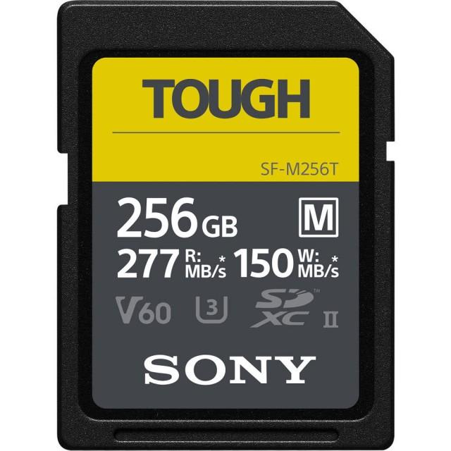 SONY 索尼 TOUGH SF-M256T 記憶卡【256GB/UHS-II/R277/W150】公司貨
