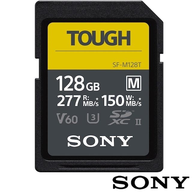SONY 索尼 TOUGH SF-M128T 記憶卡【128GB/UHS-II/R277/W150】公司貨