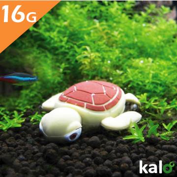 Kalo 卡樂創意 矽膠造型隨身碟 - 耗呆系列 - 海龜(16G)