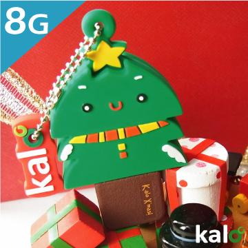 Kalo 卡樂創意 矽膠造型隨身碟 - 北歐聖誕系列 - 聖誕樹(8G) 聖誕禮物 交換禮物