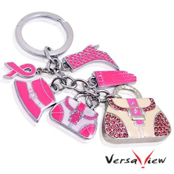 VersaView彩釉系列 粉紅甜心包造型隨身碟-4G