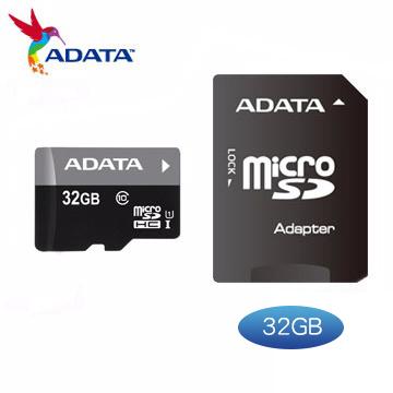 威剛ADATA Micro SDHC Premier UHS-I U1 32GB CL10記憶卡