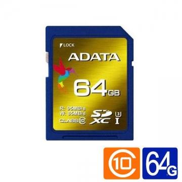 威剛 XPG SDXC UHS-I U3 64G記憶卡
