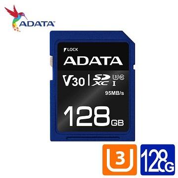 威剛 Premier Pro SDXC UHS-I U3 (V30) 128G記憶卡