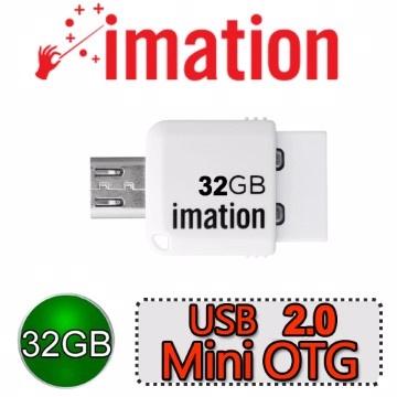 ★送TYPE C 轉接頭★◆白色限定◆ OTG Mini 2.0 32GB(手機/平版/電腦通用型)