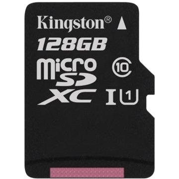 ★終身保固★金士頓 Kingston 128GB microSDXC UHS-1 Class10 記憶卡 送SD轉卡