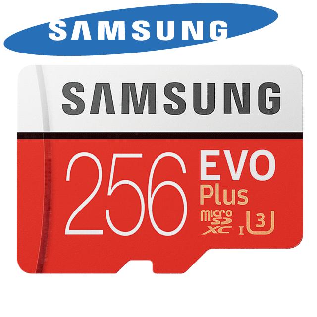 超快讀寫速度!!Samsung microSDXC 256G EVO PLUS U3 記憶卡