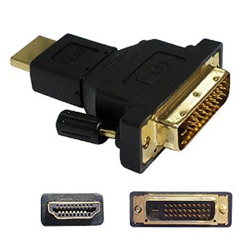 HDMI 19M/DVI 31M 轉接頭轉接好幫手