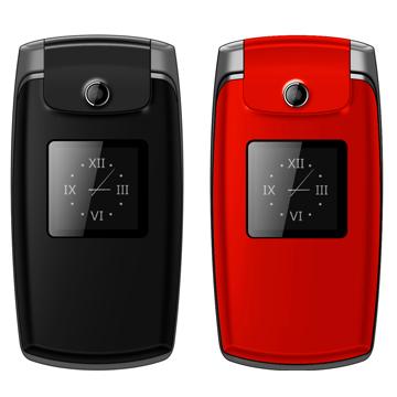 [福利品]K-Touch K900 雙螢幕3G折疊式手機-紅