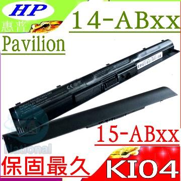 HP 14-ab 15-ab 17-g 15-an 15-ak 電池(保固最久)-惠普 KI04, TPN-Q158, TPN-Q159, TPN-Q160, TPN-Q161, TPN-Q162, H...