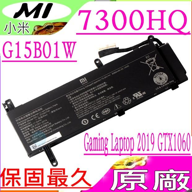 小米 MI G15B01W 電池(原廠)-XIAOMI Gaming Laptop 7300HQ 1050Ti,7300HQ 1060 ,8th 171502-AN,171502-AO, 2019 GTX1060