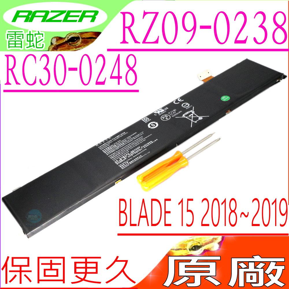 雷蛇 電池- Razer Blade RC30-0248, 15 GTX 1070 GTX 1060,RZ09-02385 RZ09-02386,RTX 207