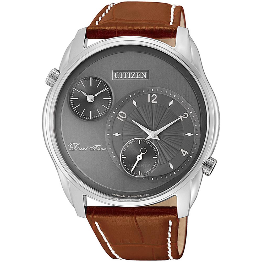 CITIZEN 星辰 簡約商務時尚腕錶/42mm/AO3030-16H