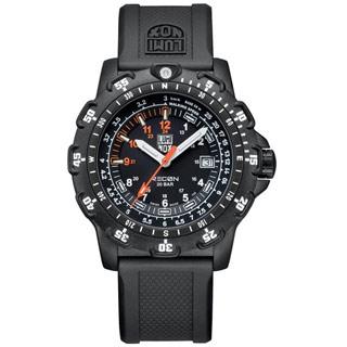 LUMINOX 雷明時特殊偵察RECON系列藍寶石水晶腕錶-黑