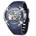 JAGA捷卡M862多功能防水運動電子錶(藍)