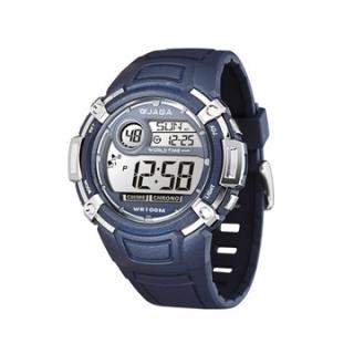 JAGA M862-E 熱活動能運動家多功能電子錶-藍