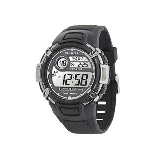 JAGA M862-A 熱活動能運動家多功能電子錶-黑