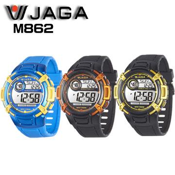 JAGA M862熱活動能運動家多功能電子錶