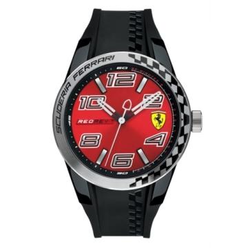 FERRARI 法拉利時尚流行速度運動錶/紅/0830335