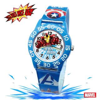 【Marvel漫威】復仇者聯盟數字兒童錶-藍色_IRON MAN
