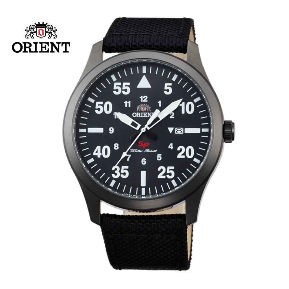 ORIENT東方錶SP系列飛行運動石英錶FUNG2003B黑色-42mm