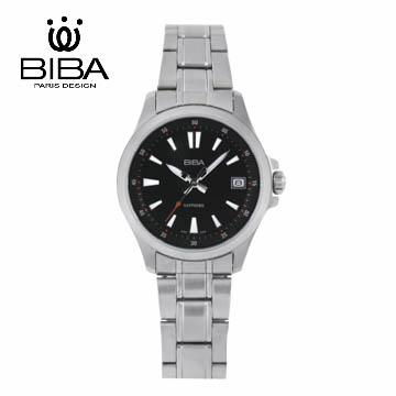 法國 BIBA 碧寶錶 經典系列 藍寶石玻璃石英錶 B321S101B 黑色-35mm