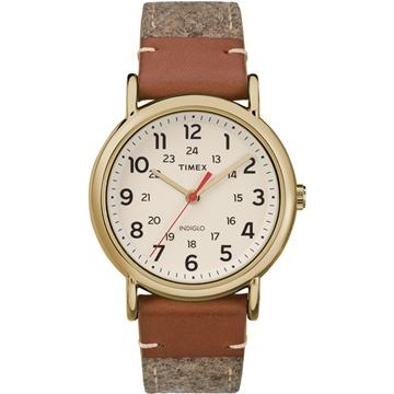 【TIMEX 】天美時經典復刻冷光Weekender系列腕錶 (米白 TXTW2R42100)