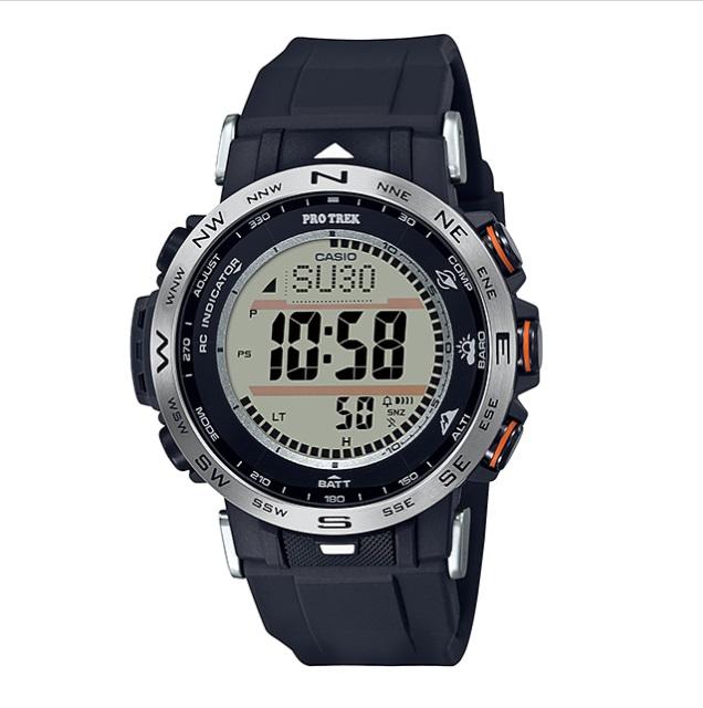CASIO 卡西歐 戶外探險 PRO TEREK 登山錶 PRW-30-1A 45.2mm