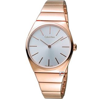 K6C2X646 玫瑰金色  CK Calvin Klein Supreme系列極簡手鍊腕錶