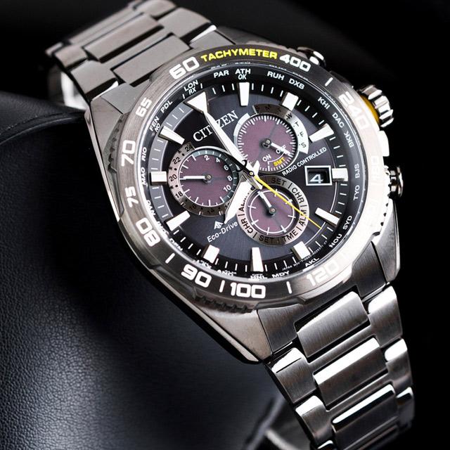 CITIZEN Eco-Drive 島嶼秘境電波光動能腕錶(CB5037-84E)