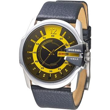 DIESEL 個性時尚酷炫造型男錶