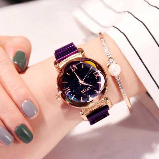[17mall] นาฬิกาแม่เหล็กควอทซ์โรแมนติก