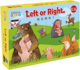 (益智桌遊/遊戲卡牌)Play Cards 12 向左向右? Lefe or Right(精裝)