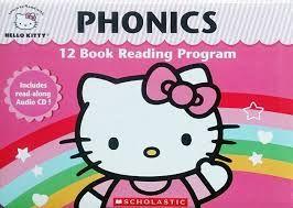 Hello Kitty Phonics:Hello Kitty自然發音魔法書(12書1CD)(外文書)