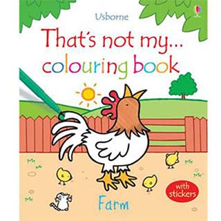 That's Not My…Colouring Book-Farm那不是我的系列著色書:農場篇(外文書)|Fiona Watt、Rachel Wells|9781409525110|Usborne Pub Ltd