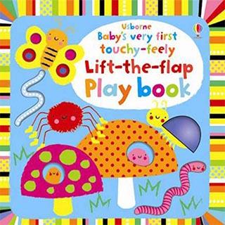 Babys Very First Touchy-Feely Play Book寶貝的第一本翻翻觸摸操作書:花(外文書)(精裝)