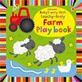 Babys Very First Touchy-Feely Farm Play Book寶寶的第一本翻翻觸摸操作書:農場動物(外文書)(精裝)