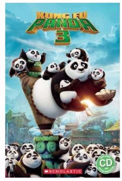 Popcorn ELT Primary Readers Level 3: Kung Fu Panda 3(Book and CD)功夫熊貓3(CD有聲書)(外文書)