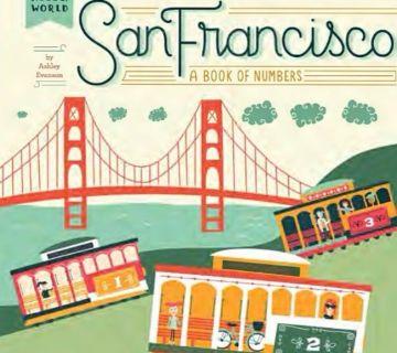 San Francisco舊金山:認識數字(厚頁書)(外文書)