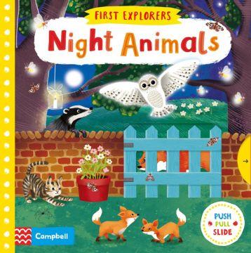 First Explorers:Night Animals有趣的夜行動物們(厚頁書)(外文書)