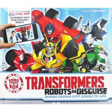 Transformers Robot數位3D AR:變形金剛(外文書)