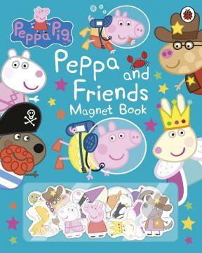 Peppa Pig: Peppa and Friends Magnet Book 粉紅豬小妹的好朋友們(磁鐵書)(外文書)(精裝)