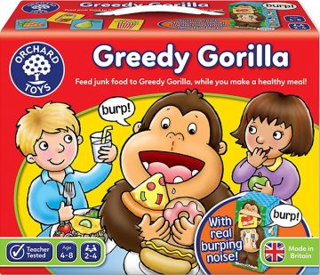 Orchard Toys Greedy Gorilla 大猩猩打嗝桌遊(桌遊)(外文書)