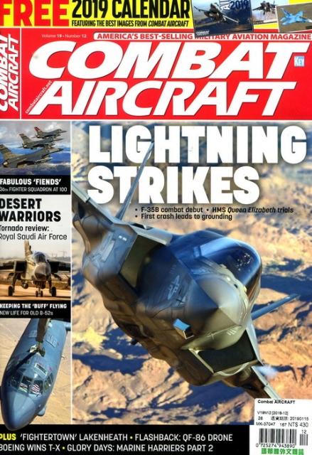 Combat AIRCRAFT Vol.19 No.12 12月號 2018
