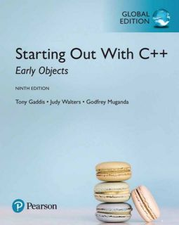 STARTING OUT WITH C++:EARLY OBJECTS 9/E(GE)|GADDIS、WALTERS、MUGANDA|9781292157276|全華