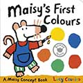 Maisy's First Colours 波波玩顏色硬頁書(外文書)|Lucy Cousins|9781406344264|walker books