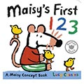Maisy's First 123 波波的數字123硬頁書(外文書)|Lucy Cousins|9781406344806|walker books